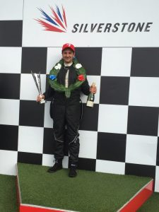 Gareth Montgomery, First in Class, Silverstone Race Circuit