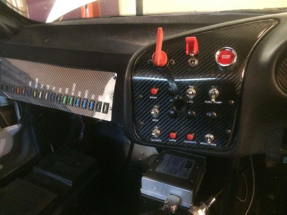 Analogue switches for car electrics and ECU traction control and launch control.